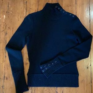 Vince | Black Cashmere Sweater